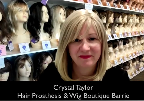 Crystal Taylor - Owner of The Wig Boutique & Hair Prosthesis in Barrie ON